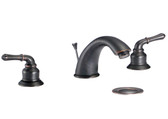FBX Merritt 83H03-ORB Bath 2 Handle Widespread Faucet Oil Rubbed Bronze