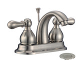 "FBX Chapman 83H15-BN-A Bath 2 Handle 4"" Centerset Faucet Brushed Nickel"