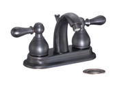 "FBX Chapman 83H15-ORB-A Bath 2 Handle 4"" Centerset Faucet Oil Rubbed Bronze"