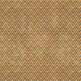 Tim Holtz PWTH079 Materialize ZigZag Orange Cotton Fabric By Yard