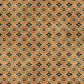 Tim Holtz PWTH076 Materialize Manor Orange Cotton Fabric By Yard