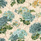 Snow Leopard English Garden PWSL055 Pelagoriums Harvest Cotton Fabric By The Yd