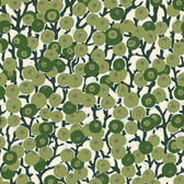 Snow Leopard English Garden PWSL058 Cherry Tomatoes Green Cotton Fabric By Yd