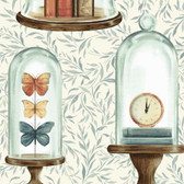 Blank Quilting 8727-41 Bookshop Bell Jars Ivory Cotton Fabric By Yard