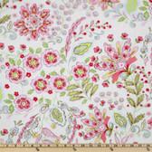 Dena Designs PWDF133 Pretty Little Things Emma Cream Cotton Fabric By Yard