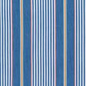Dena Designs PWDF252 Isabelle Stripe Blue Cotton Quilt Fabric By Yard