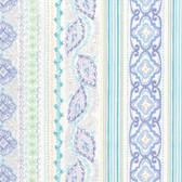 Dena Designs Marquesas PWDF262 Tehani Aqua Cotton Fabric By The Yard