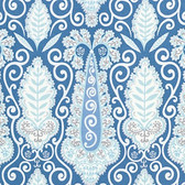 Dena Designs PWDF251 Isabelle Paisley Blue Cotton Quilt Fabric By Yard