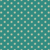 Denyse Schmidt PWDS139 Washington Depot Trippy Teal Cotton Fabric By Yd
