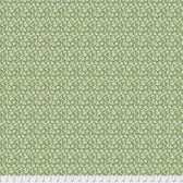 Coats PWCC012 Daisy Daze Ditsy Green Cotton Quilting Fabric By Yd