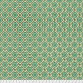 Joel Dewberry Avalon PWJD159 Casablanca Jade Cotton Fabric By Yd