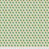 Joel Dewberry Avalon PWJD160 Poka Stripe Jade Cotton Fabric By Yd