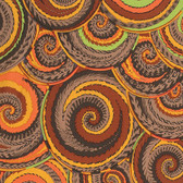 Philip Jacobs PWPJ066 Curly Baskets Brown Cotton Quilting Fabric By Yard