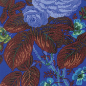 Philip Jacobs PWPJ086 Summer Bouquet Blue Cotton Quilting Fabric By Yard