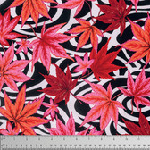 Philip Jacobs PWPJ080 Maple Stream Black Cotton Quilting Fabric By Yard