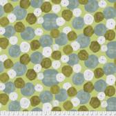 Keiko Goke How Do You Do PWKG004 Stitch Flower Green Cotton Fabric By Yard