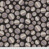 Keiko Goke How Do You Do PWKG001 Lollipop Candy Black Cotton Fabric By Yard