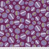 Keiko Goke How Do You Do PWKG001 Lollipop Candy Purple Cotton Fabric By Yard