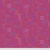 Keiko Goke How Do You Do PWKG005 Sashiko Pink Cotton Fabric By Yard