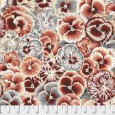 Snow Leopard Arcadia PWSL072 Violas Neutral Cotton Fabric By Yd