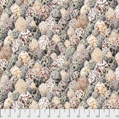 Snow Leopard Arcadia PWSL069 Egg Shells Neutral Cotton Fabric By Yd