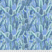 Snow Leopard Arcadia PWSL07 Farmyard Feathers Tropical Cotton Fabric By Yd