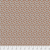 Snow Leopard Arcadia PWSL071 Snow Leopard Neutral Cotton Fabric By Yd