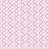 Verna Mosquera Kiss Goodbye PWVM196 Ribbons In Bloom Cotton Candy Fabric By Yd
