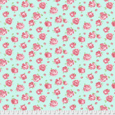 Verna Mosquera Kiss Goodbye PWVM192 Bloomfield Mint Cotton Fabric By Yd