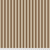 Verna Mosquera Autumn Grace PWVM186 Vintage Ticking Cinnamon Fabric By Yd