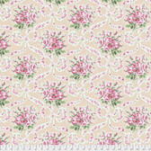 Verna Mosquera PWVM184 Autumn Grace Ribbon Bouquet Latte Fabric By Yd
