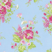 Tanya Whelan PWTW125 Sadie's Dance Card Wild Flower Cotton Quilting Fabric By Yd
