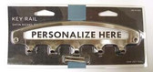 085-03-1679 Satin Nickel Personalizable 4 Hook Key Tidy