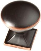 """P20387C-VBC 1 1/4"""" Southampton Bronze w/ Copper Cabinet Drawer Knob"""
