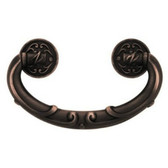 "PN1511-VBR 2 1/2"" French Lace Bail Cabinet Drawer Knob Pull Venetian Bronze"