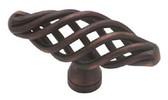 "PN0528-VBR-C  2"" Birdcage Cabinet Drawer Knob Pull Venetian Bronze"
