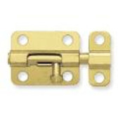 "B5220 2 1/2"" Window Barrel Bolt Brass Plated"