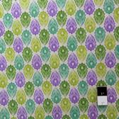 Victoria and Albert PWVA009 Garthwaite Foulard Purple Fabric By Yard
