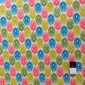 Victoria and Albert PWVA009 Garthwaite Foulard Teal Fabric By Yard