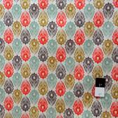 Victoria and Albert PWVA009 Garthwaite Foulard Neutral Fabric By Yard
