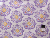 Ty Pennington PWTY016 Fall Impressions Delhi Purple Cotton Fabric By The Yard