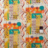 Felicity Miller PWFM032 Charleston Farmhouse Sampler Ochre Fabric By Yard