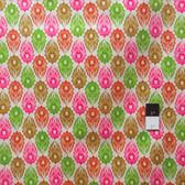 Victoria and Albert PWVA009 Garthwaite Foulard Pink Fabric By Yard