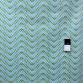 Marjolein Bastin PWMB007 Nature's Palette Chevron Jade Fabric By Yard