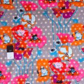 Anna Maria Horner PWAH050 Field Study Raindrops Poppies Platinum Fabric By Yd