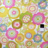 Erin McMorris PWEM034 LaDeeDa Pixie Saffron Fabric By The Yard