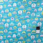 Erin McMorris PWEM039 LaDeeDa Bubbles Aqua Fabric By The Yard