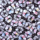 Erin McMorris PWEM048 Moxie Trixie Black Fabric By The Yard