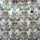 Annette Tatum SAAT002 Classica Sateen Scroll Alpine Home Dec Fabric By The Yard