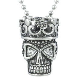 Steel Power Skull Necklace
